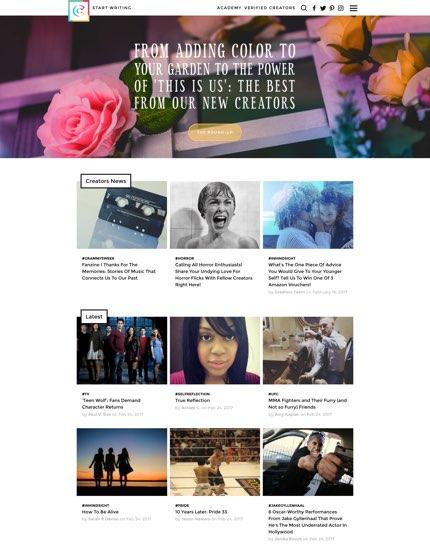 Screenshot der Liefery Seite